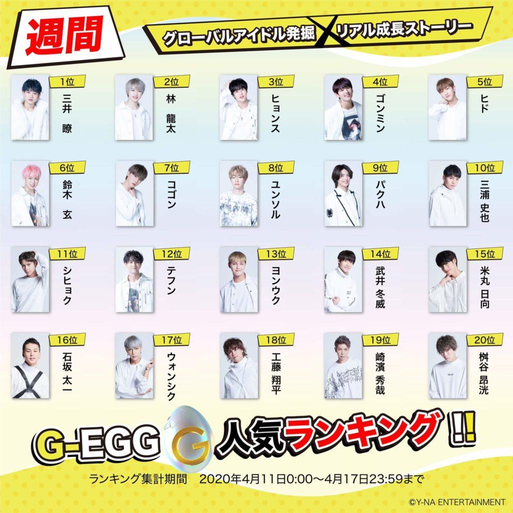 G-EGG 投票