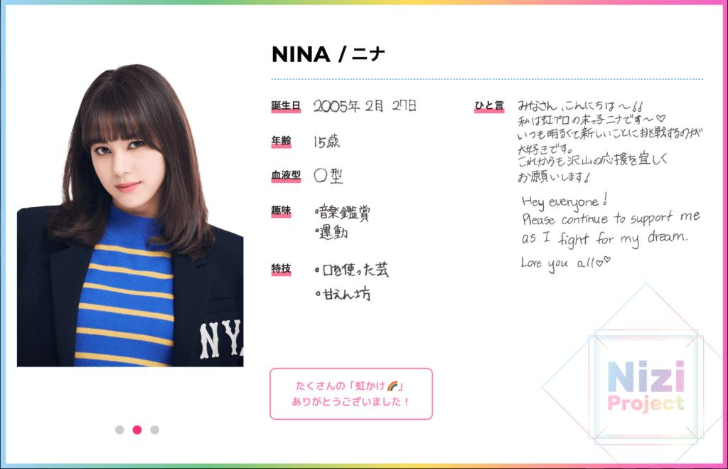 NiziProject NINA