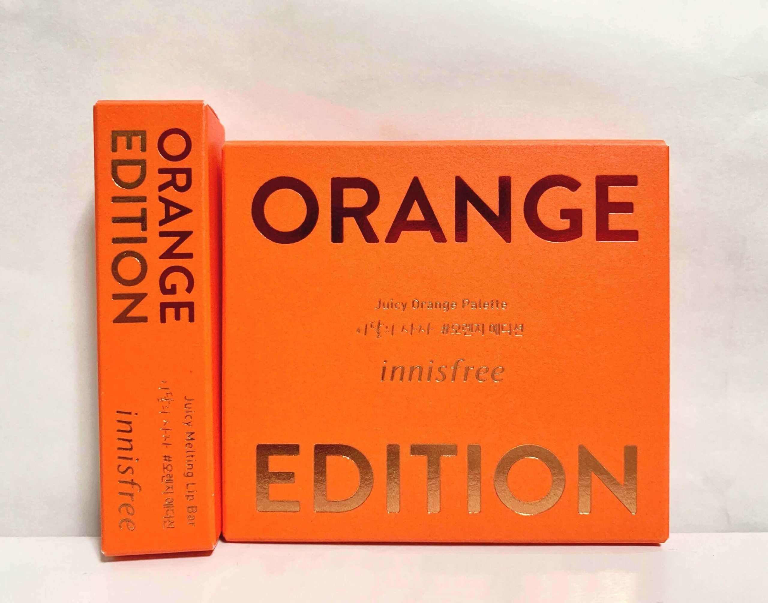 innisfree ORANGE EDITION
